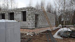 Строительство дома с бассейном. Стрим с объекта