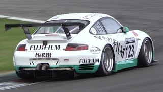 Porsche 996 GT3 RSR vs RS in Action at Nürburgring! - LOUD N/A Flat-Six Engine Sound!