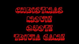 Video Christmas Movie Quotes Trivia Game download MP3, 3GP, MP4, WEBM, AVI, FLV Juni 2017