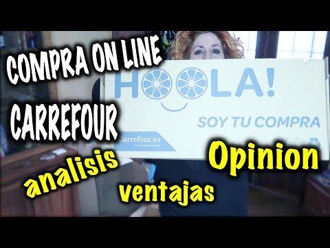 Analizando servicio CARREFOUR ON LINE ¿estoy contenta? COMPRA