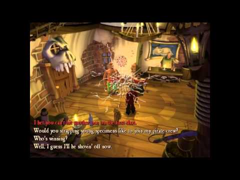 Let's Play Escape from Monkey Island Part 1  