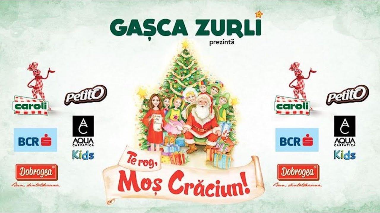 Gasca Zurli - Spectacol Te rog, Mos Craciun #zurli