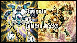 Gadgets Master Rule 2020 Revision vs 5 Meta Decks December 2019 (YGO PRO)