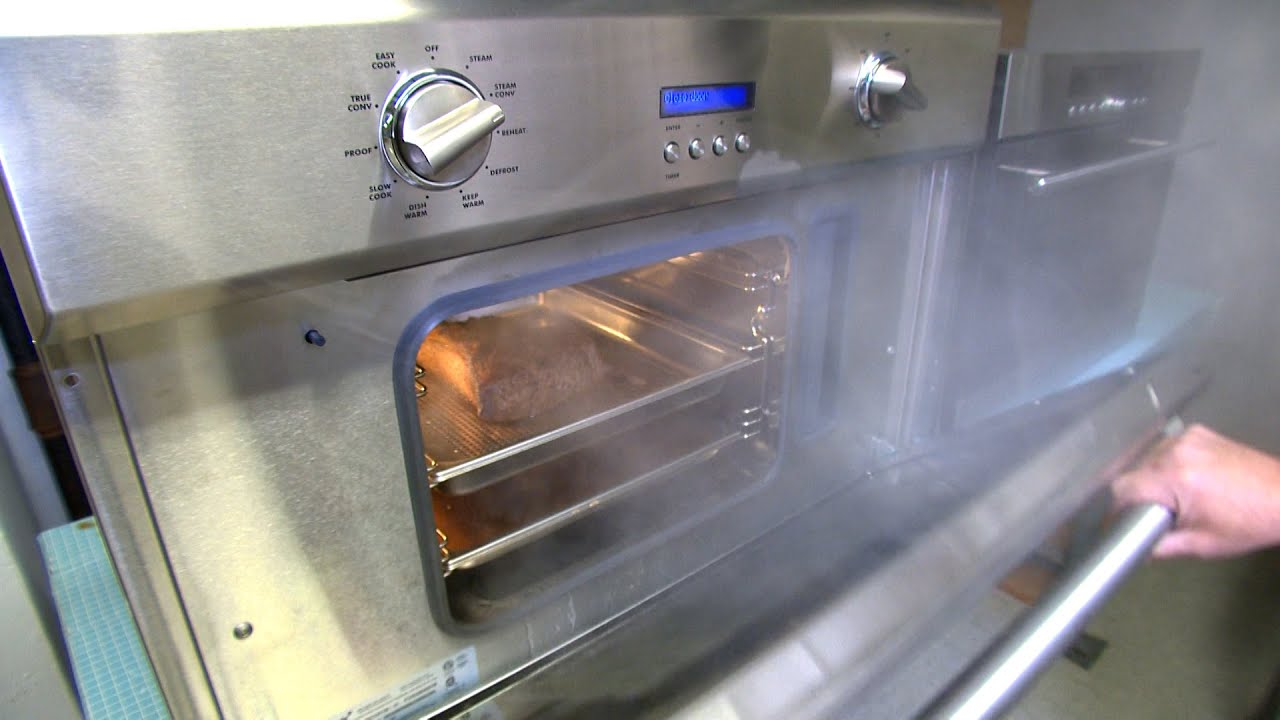 What Does a $4 000 Steam Oven Buy You