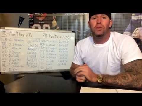 NFL Week 12 Monday/Thanksgiving Day Fantasy Football Winning Lineups!! Draft Kings, FanDuel!!!