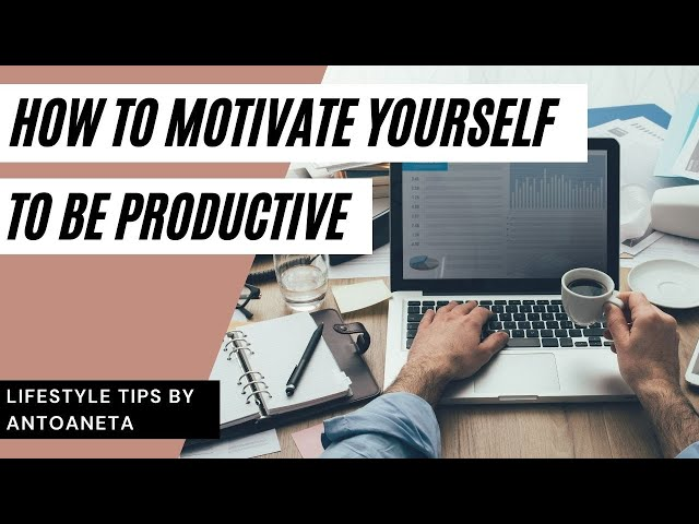 How to Motivate Yourself To Be Productive (Tips For Success) #short