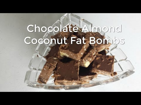 Chocolate Almond Coconut Fat Bombs