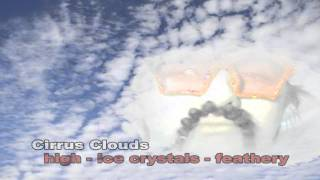 i m a cloud types of clouds music video