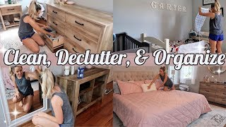 CLEAN WITH ME 2019 // CLEAN, DECLUTTER, AND ORGANIZE WITH ME // SPRING CLEANING