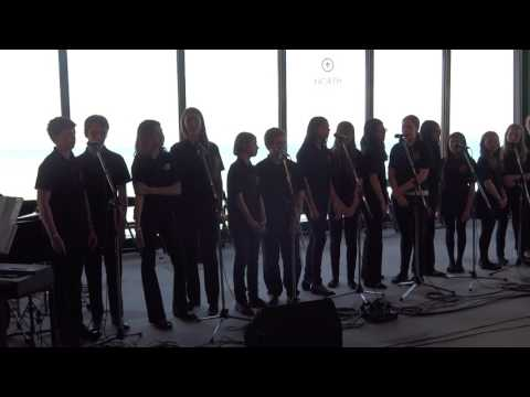 "John G Althouse MS Jazz Choir performs ""Cheek to Cheek"" @ Chicago 360"