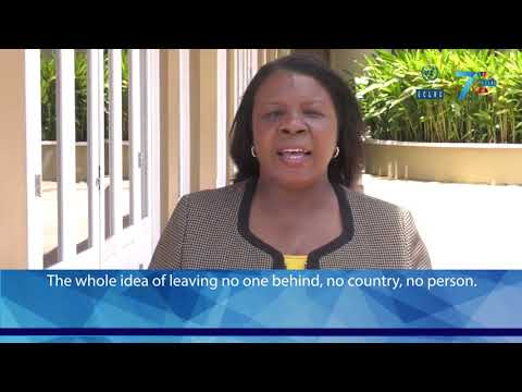 Sharon Miller, Ministry of Affairs and Foreign Trade of Jamaica (CDR 2018 meeting)