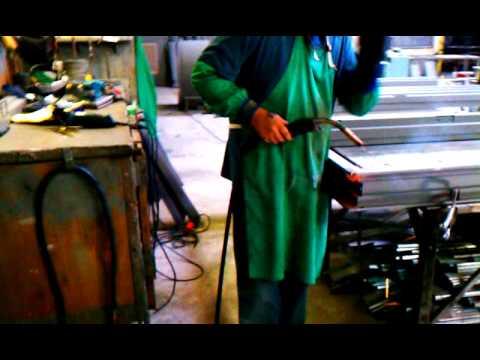 Welding Metal Door Frame | MILLS & NEBRASKA