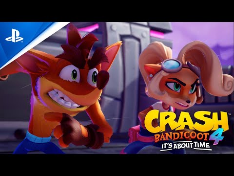 Crash Bandicoot 4: It's About Time – Gameplay Launch Trailer   PS4