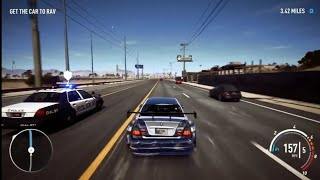 NFS Playback-Abandoned BMW M3 GTR Police chase with most Wanted 2005 Pursuit Theme