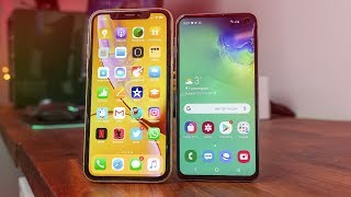 Galaxy S10e Vs iPhone XR Review!