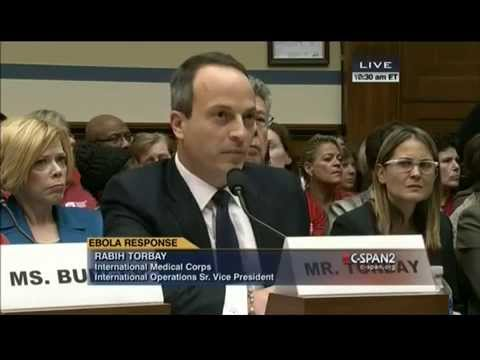 Ranking Member Cummings Questions NGO Witness at Ebola Hearing
