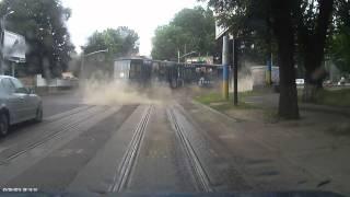 ДТП, трамвай на Липинського