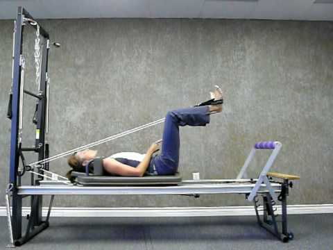 Pilates Reformer Lower Body Workout