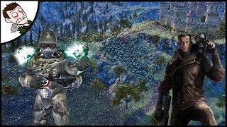 Massive 40000 German Wolfenstein Mech Army v USA Army - Ultimate Epic Battle Simulator 1.1 Gameplay