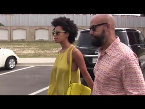Solange Knowles Finally Asked About Elevator Fight | Splash News TV | Splash News TV