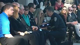 OFFICER FUNERAL: Riverside Police Department says farewell one last time