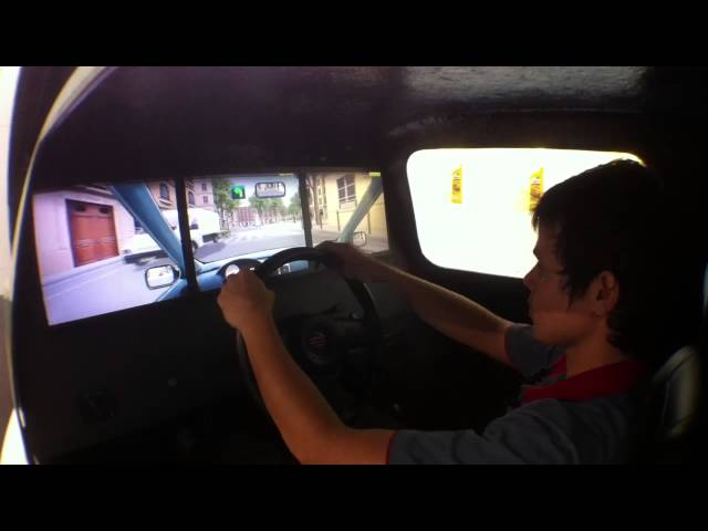 Simulador de Auto Escola Salão do Automovel 2012 HD