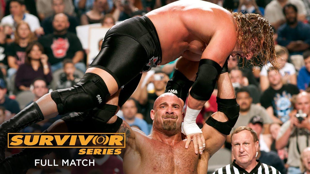 FULL MATCH - Goldberg vs. Triple H - World Heavyweight Title Match: Survivor Series 2003