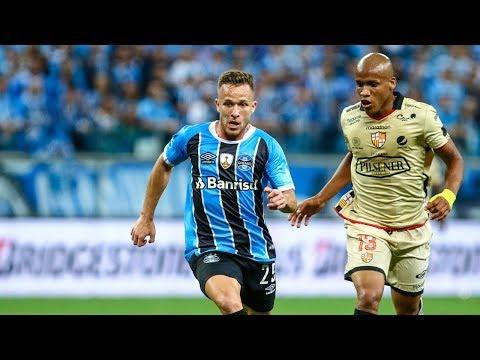 Arthur vs Barcelona (EQU) HD 720p (01/11/2017) Copa Libertadores