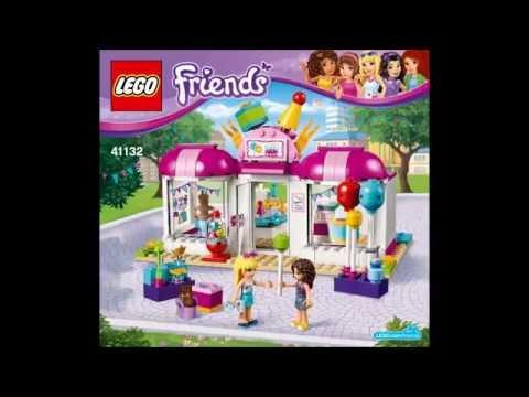 LEGO Friends 41132 - Heartlake Party Shop - Building Instructions