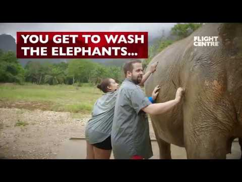 Elephant Hills Luxury Camp in Thailand with Flight Centre