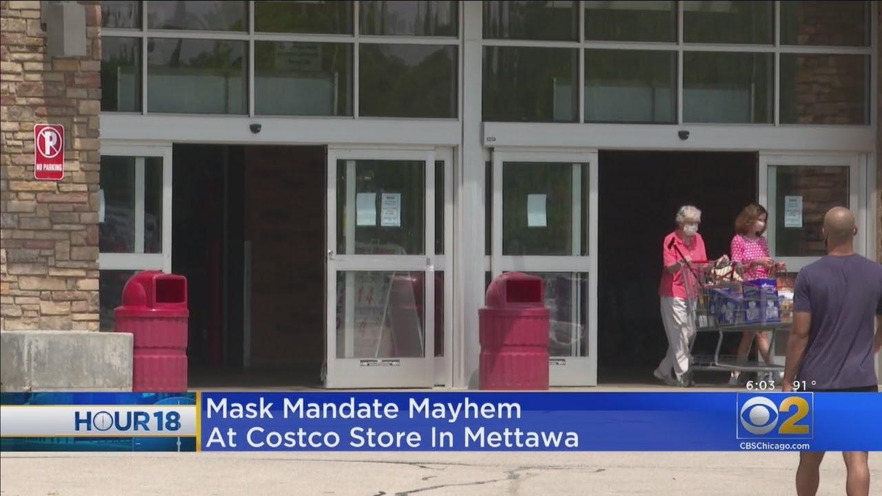Mask Mayhem At Mettawa Costco