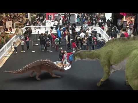 Back to the Jurassic - Augmented Reality dinosaur experience by INDE