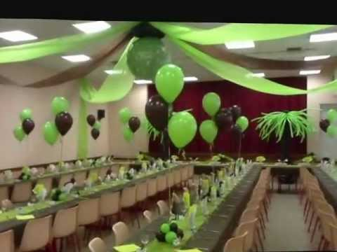 décoration ballons - YouTube