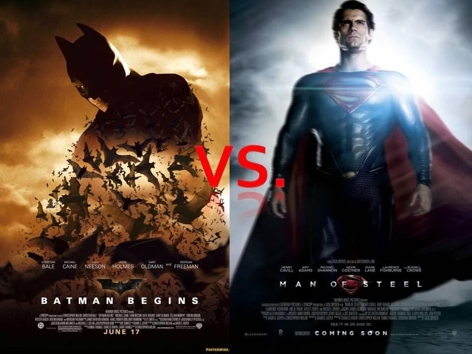 batman begins vs man of steel youtube