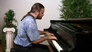 Bach: Invention 13 in A minor (older version)   Cory Hall, pianist-composer