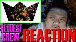 reaction request dance crew ft mini request   rq anthem