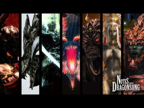 FFXIV OST Primals & Trials - Heavensward ( Notes from the Dragonsong )