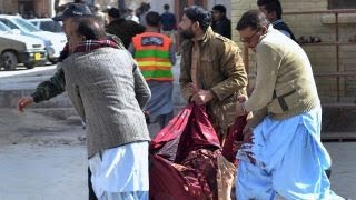 At least nine killed in suicide bomb attack in Pakistan