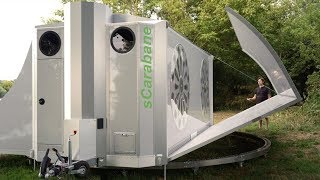 Video sCarabane the off-grid folding caravan Expands Into a Tiny House download MP3, 3GP, MP4, WEBM, AVI, FLV Juni 2018