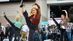 HUGE Flash Mob Shocks Tradeshow Visitors!