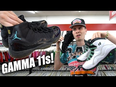 Trip to the Thrift #171 | GAMMA 11s FOUND?! JORDAN 10s, TOMMY, and GRIFFEYS!