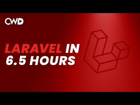 Complete Laravel 8 Tutorial | Laravel 8 From Scratch | Full Laravel 8 Course | Laravel For Beginners