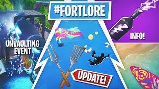 Fortnite Update! Daily Unvault, 14 Days of Summer Rewards, New Modes!