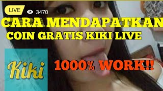 CARA MENDAPATKAN COIN GRATIS KIKI LIVE/JoyLive/GogoLive - 8 COIN PERHARI