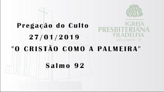 pregação 27/01/2019 (O cristão como a palmeira)