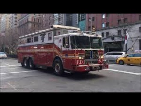 Fire Truck F.D.N.Y RESCUE One