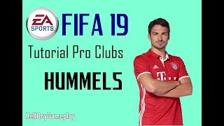 Fifa 19 | Tutorial face Mats Hummels - Bayern München | Pro clubs