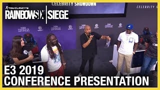 Rainbow Six Siege: Lil Yachty & T-Pain Celebrity Showdown | E3 2019 | Ubisoft [NA]