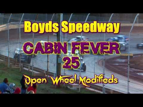Open Wheel Modified \ Boyds Speedway \ Cabin Fever\ Jan 28 , 2017