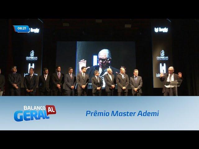 Na sexta-feira aconteceu a 22ª edição do Prêmio Master Ademi